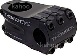 【80】ELITE BMX STEM ステム長50mm ステム角0度 バークランプ径22.2mm ブラック エリートBMXステム THOMSON トムソン SM-E156-BK お取り寄せ