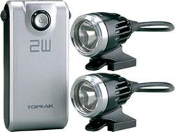 【~2.0kg】●ホワイトライト HP 2W デュアル WhiteLite HP 2W Dual トピーク TOPEAK △△2 ホワイトライトHP2Wデュアル