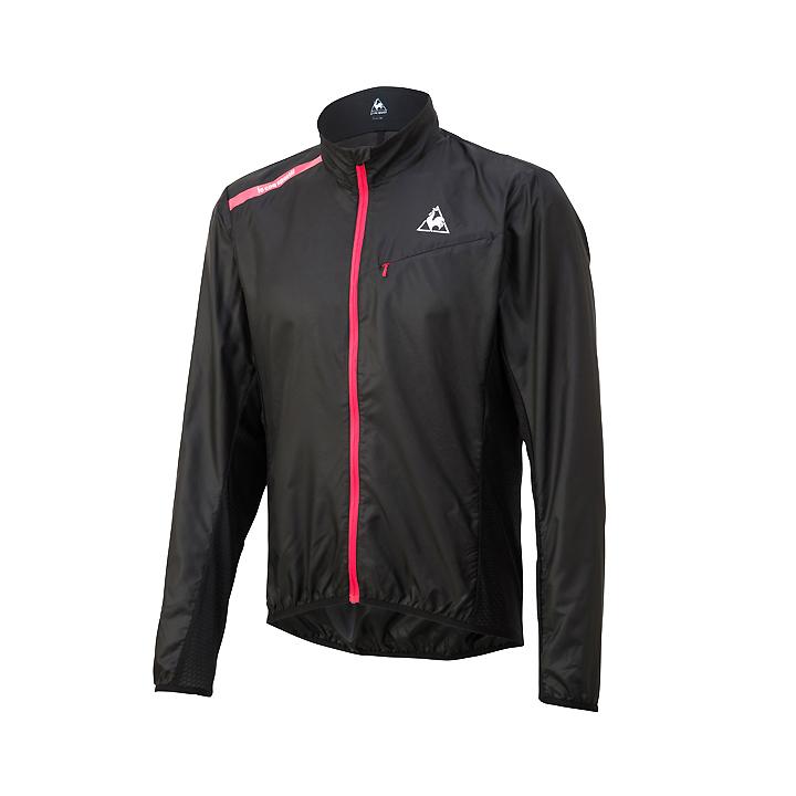 【80】le coq sportif ルコックスポルティフ QCMNGC22 ブラック Oサイズ クリアジャケット LCS4548951680415 お取り寄せ
