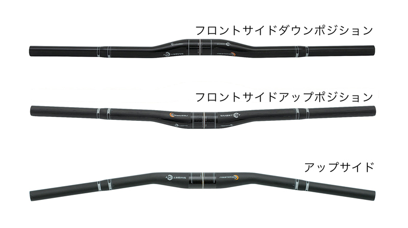 【140】OnebyESU ワンバイエス スマートフィットカーボンライザー 660mm UD ハンドルバー O15HDL00702 お取り寄せ