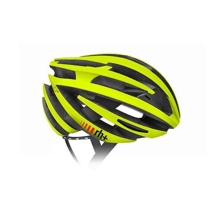 【140】EHX6055 ZY 38 マットイエローフルオ/ブリッジマットブラック XS/M rh+ アールエイチプラス ヘルメット EHX6055ZY-MYLMBK-XSM お取り寄せ
