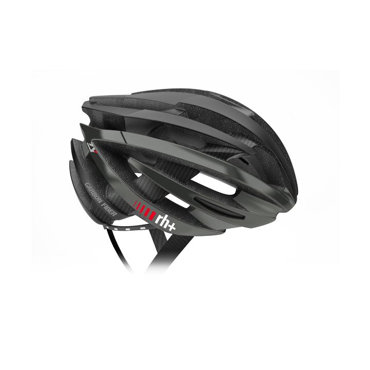 【140】EHX6061 ZY Special Edition Fiber Carbon 01 マットブラック/ブラックカーボン XS/M rh+ アールエイチプラス ヘルメット EHX6061ZY-MBKBKC-XSM お取り寄せ