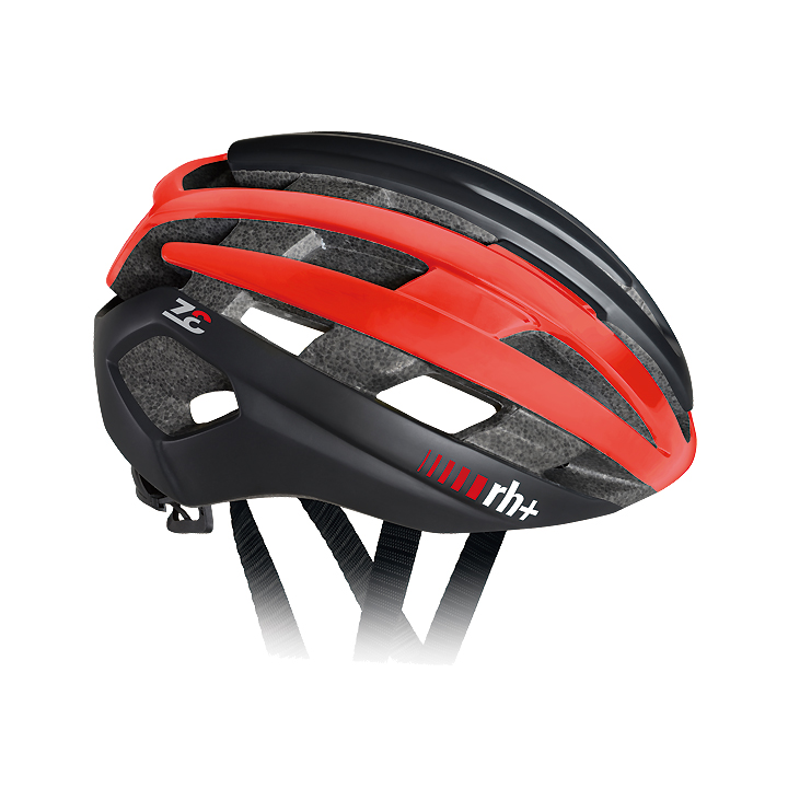 【140】EHX6074 Z-Epsilon 03 マットブラック/シャイニーレッド/マットブラック L/XL rh+ アールエイチプラス ヘルメット EHX6074-BKRDBK-LXL お取り寄せ