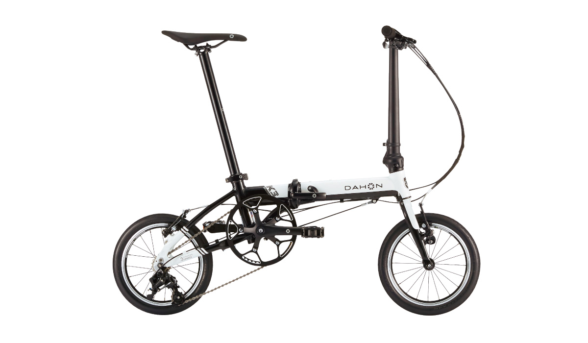 【180】DAHON K3 ホワイト/ブラック 2019年モデル ダホン 14インチ 折りたたみ自転車 19K3-WHBK △△5