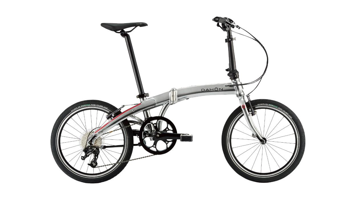 【220】DAHON Mu D9 クイックシルバー 2019年モデル ダホン ミューD9 20インチ 折りたたみ自転車 19MUD9-SL