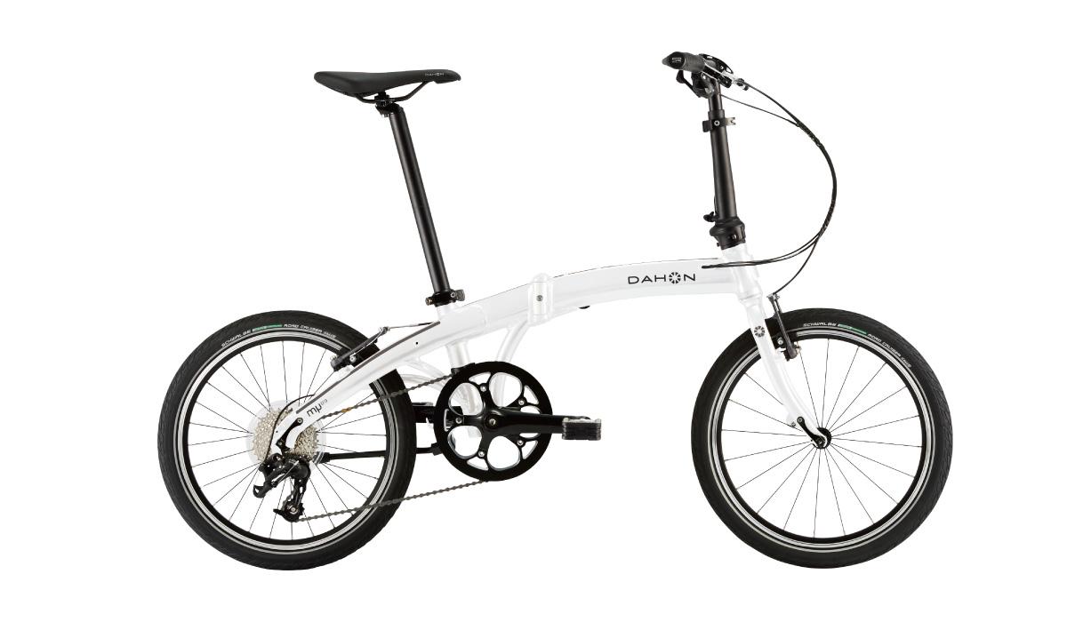 【220】DAHON Mu D9 アイスホワイト 2019年モデル ダホン ミューD9 20インチ 折りたたみ自転車 19MUD9-WH お取り寄せ