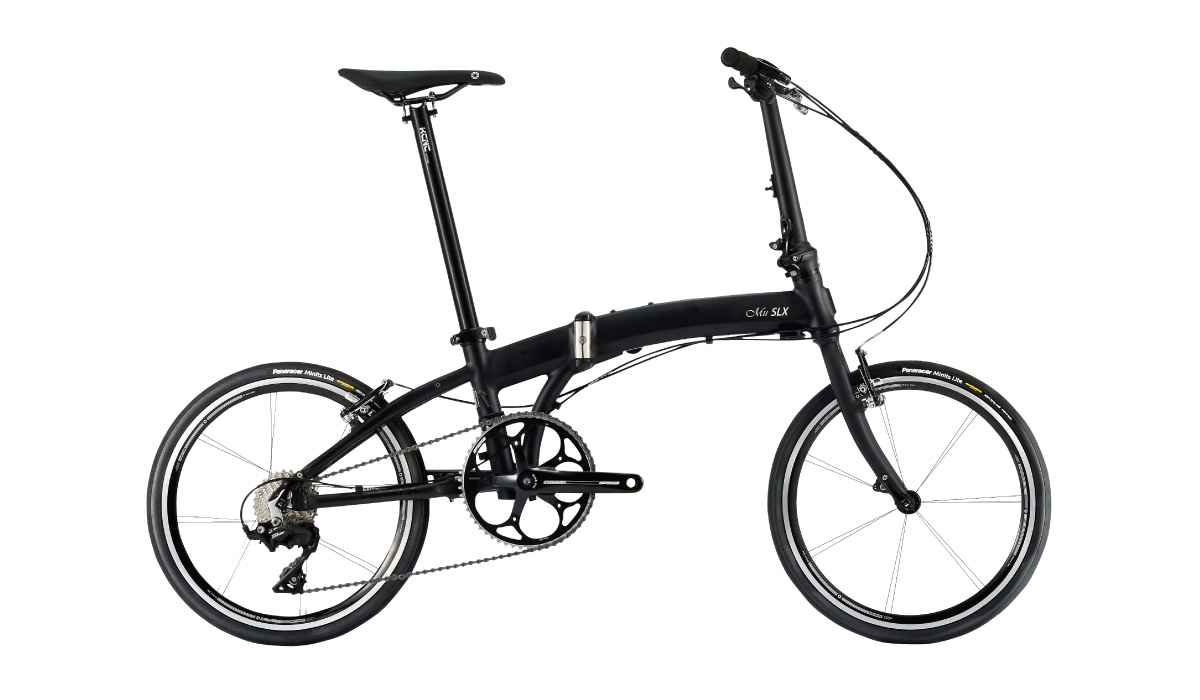 【220】DAHON Mu SLX ドレスブラック 2019年モデル ダホン ミューSLX 20インチ 折りたたみ自転車 19MUSL-BK △△10