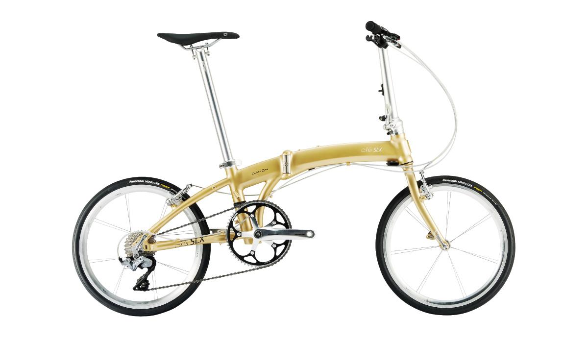 【220】DAHON Mu SLX プレミアムゴールド 2019年モデル ダホン ミューSLX 20インチ 折りたたみ自転車 19MUSL-GL △△10 お取り寄せ