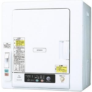【220】在庫わずか DE-N60WV-W 日立 HITACHI 衣類乾燥機(乾燥容量6kg) DEN60WV【あんしん延長保証加入可能】【kk9n0d18p】