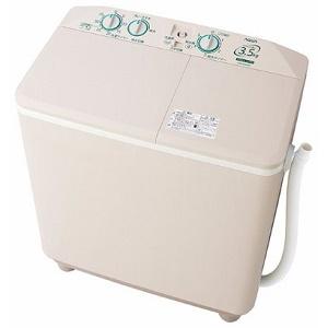 買いまわりでポイント最大10倍お買い物マラソン 10日23:59まで【240】AQW-N351-HS ソフトグレー アクア 3.5kg 二槽式洗濯機【あんしん延長保証加入可能】【kk9n0d18p】
