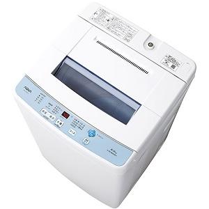 【220】AQW-S60F-W アクア AQUA 6.0kg 全自動洗濯機【あんしん延長保証加入可能】【kk9n0d18p】AQWS60F