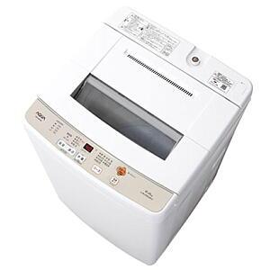 【220】AQW-S60G-W アクア AQUA 6.0kg 全自動洗濯機【あんしん延長保証加入可能】【kk9n0d18p】