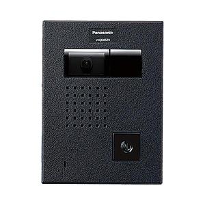 【80】※お取り寄せ WQD862B パナソニック Panasonic カラーカメラ付ドアホン子器(広角)(露出薄型・金属プレート)(WQD品番専用)(警報表示付)【延長保証対象外】