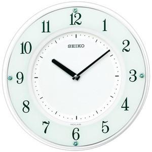 【160】お取り寄せ SF505W セイコー SEIKO 薄型ソーラー電波掛時計【kk9n0d18p】