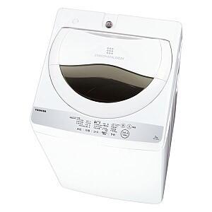 ★【220】AW-5G6-W 東芝 TOSHIBA 5.0kg 全自動洗濯機 グランホワイト【あんしん延長保証加入可能】【kk9n0d18p】
