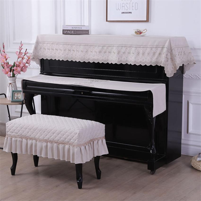 ピアノカバー 北欧 無地 汚れ防止 通信販売 ベージュ ブルー 三点セット アップライト トップカバー 電子ピアノカバー ピアノ鍵盤カバー 椅子カバー 一人掛けタイプ おしゃれ 優雅 セット 高級 ピアノ掛け シンプル 上品 数量は多 キーボードカバー 防塵カバー 二人掛けタイプ