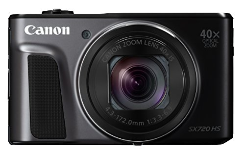 Canon デジタルカメラ PowerShot 新品未使用正規品 SX720 HS 光学40倍ズーム 海外 PSSX720HSBK ブラック