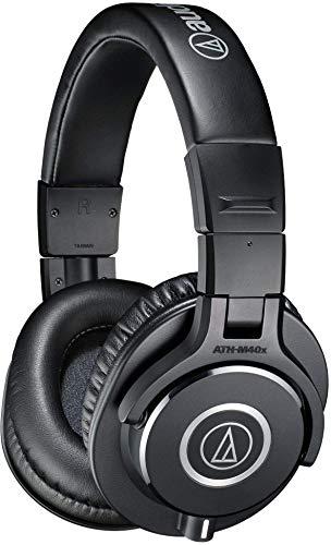 audio-technica プロフェッショナルモニターヘッドホン ATH-M40x ブラック ついに入荷 売り出し テレワーク スタジオレコーディング 在宅勤務 楽器練習