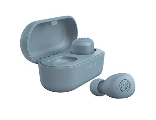 ヤマハ マート 完全ワイヤレスイヤホン TW-E3B A : リスニングケア 期間限定今なら送料無料 Bluetooth 最大6+18時間再生 AAC 専用アプリ対応 aptX対応 マイク搭載 生活防水IPX5相当 スモーキーブルー