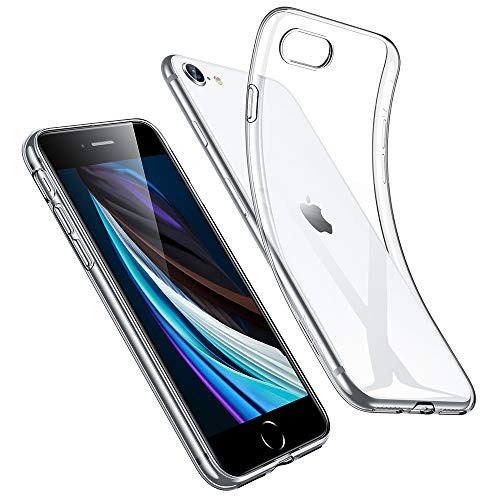 ESR iPhone SE 用 おすすめ ケース iPhone8 4.7インチ クリア 柔軟 tpuカバー NEW ARRIVAL 軽量 透明 シリコン スリム