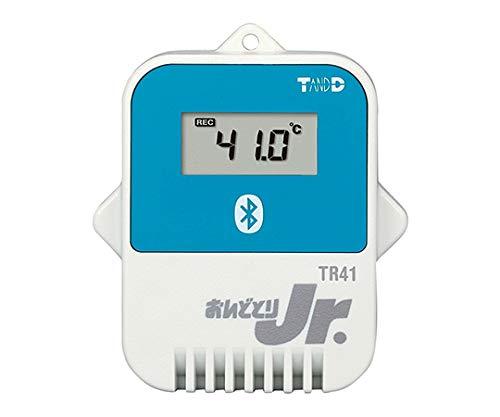ティアンドデイ おトク データロガー おんどとりJr. Bluetooth対応 TR41 センサ内蔵 新生活 62-2977-98 温度1ch