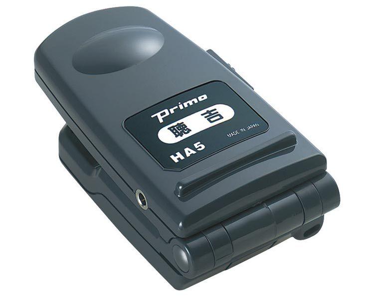 【プリモ】【ハンディタイプ】【マイクロホンレシーバー】【集音器】【聴吉】製品型番:HA-5