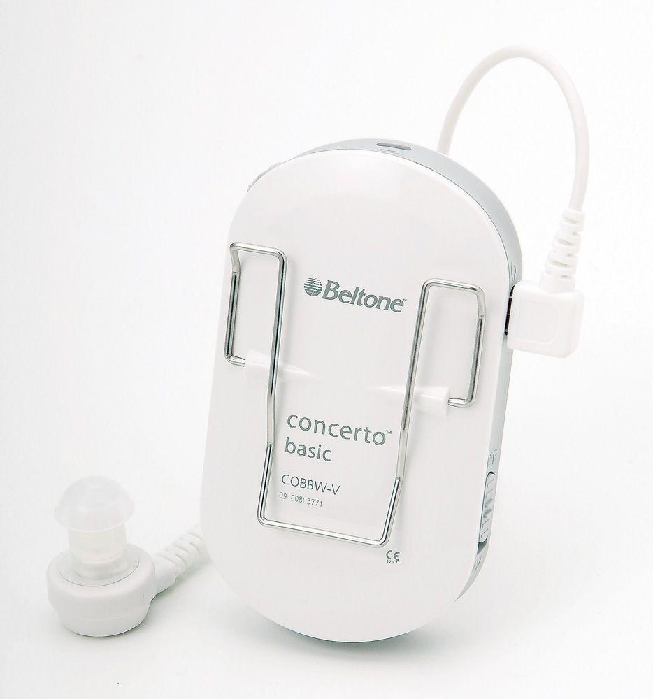 【ポケット補聴器】【集音器】【ベルトーン】ポケットタイプデジタル補聴器】コンサート (軽度から高度難聴者向けポケット 既製デジタル補聴器) 製品型番:CONCERT