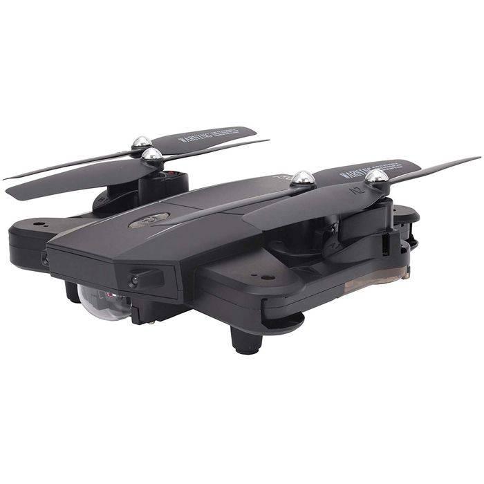 【沖縄・離島配送不可】ドローン カメラ付 2.4GHz 4CH Wi-Fi デュアルカメラ搭載 クアッドコプター GRANFLOW グランフロー ブラック 日本正規品 技適マーク取得済 ジーフォース GB060