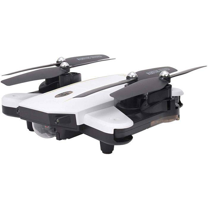 【沖縄・離島配送不可】ドローン カメラ付 2.4GHz 4CH Wi-Fi デュアルカメラ搭載 クアッドコプター GRANFLOW グランフロー ホワイト 日本正規品 技適マーク取得済 ジーフォース GB061