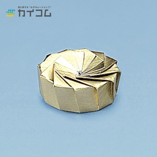 花ぐるまHJ-1(金)サイズ : 212φ×75(底)× 32mm入数 : 300単価 : 45.59円(税抜)