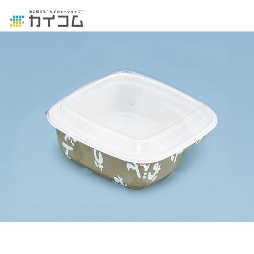 【丼容器・弁当箱】ES-2301(透明フタ)サイズ : 184×184×12mm入数 : 450単価 : 17.83円(税抜)