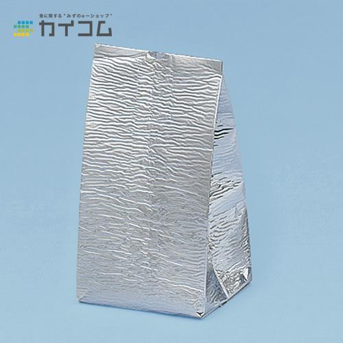 アルミガゼット袋サイズ : 150×(5.5+5.5)×350mm入数 : 250単価 : 58円(税抜)