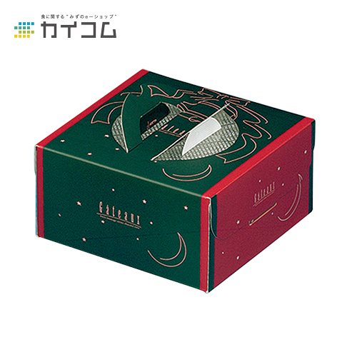 ハンドボックス ブローニュグリーン 6号サイズ : 221×221×117mm入数 : 100単価 : 149.42円(税抜)