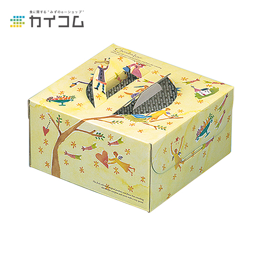 ハンドボックス メルヘン 6号サイズ : 221×221×117mm入数 : 100単価 : 150.26円(税抜)