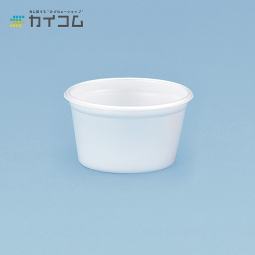 TM-101(白)サイズ : 88φ×50mm(160cc)入数 : 2000単価 : 10.94円(税抜)