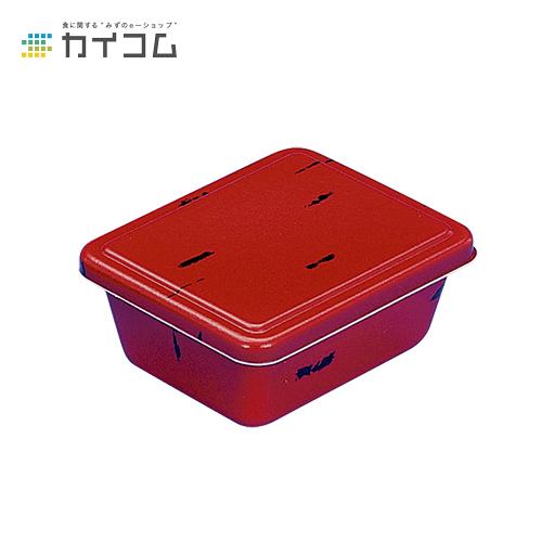 【丼容器・弁当箱】B-46(赤うるし)本体サイズ : 160×123×60mm入数 : 700単価 : 22.09円(税抜)