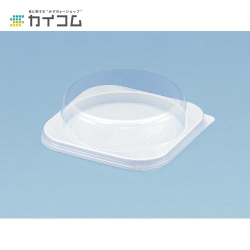 エスコンF182(透明フタ)サイズ : 182×182×40mm入数 : 400単価 : 36.57円(税抜)