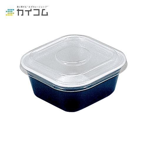 【丼容器・弁当箱】どん重(小)黒うるしサイズ : 118×118×52mm入数 : 800単価 : 16.15円(税抜)