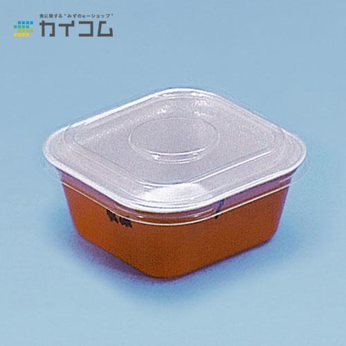 【丼容器・弁当箱】どん重(小)赤うるしサイズ : 118×118×52mm入数 : 800単価 : 14.89円(税抜)