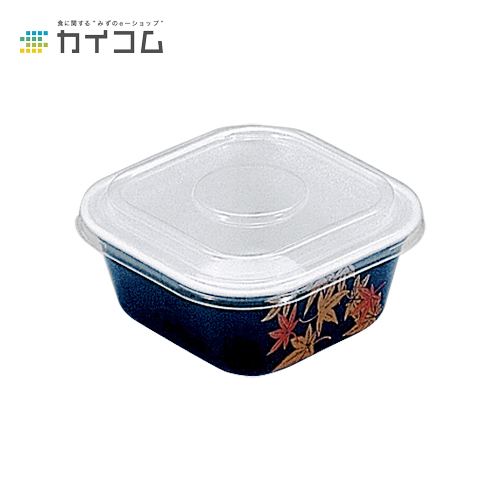 【丼容器・弁当箱】どん重(小)もみじサイズ : 118×118×52mm入数 : 800単価 : 15.08円(税抜)