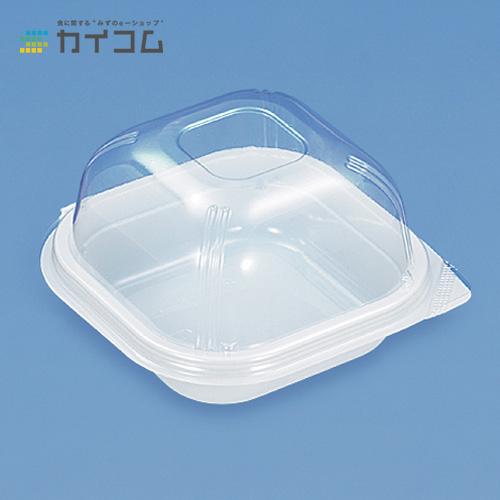ユニコン LS-角120ドーム(白)サイズ : 122×122×73mm入数 : 1000単価 : 17.46円(税抜)