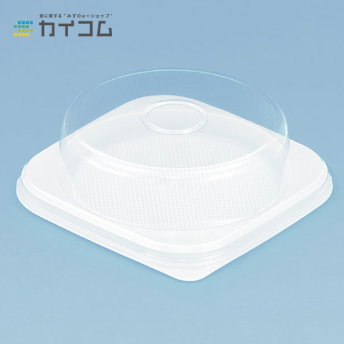 ケーキボックス No.4(白)サイズ : 183×183×15mm入数 : 600単価 : 24.81円(税抜)