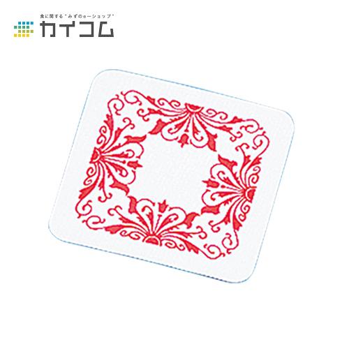 角型コースター(赤)サイズ : 0.6×80mm入数 : 5000単価 : 2.91円(税抜)