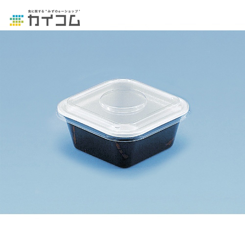 【丼容器・弁当箱】どん重大盛 透明フタサイズ : 158×158×22mm入数 : 800単価 : 16.76円(税抜)