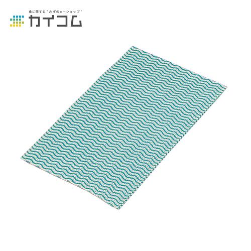 カウンタークロス厚手(グリーン)サイズ : 350×600mm入数 : 480単価 : 21.58円(税抜)