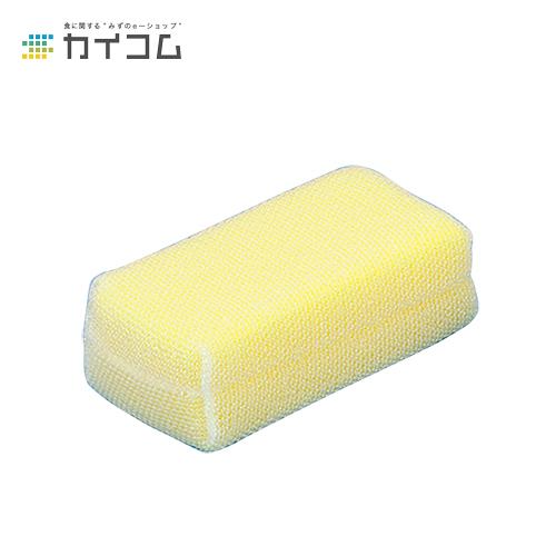 パワフルネットたわし(黄)サイズ : 80×155mm入数 : 60単価 : 456.23円(税抜)