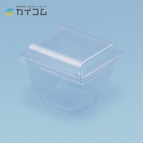 エスコンZ-115-500(透明) 本体サイズ : 115×115×78mm入数 : 1200単価 : 18.23円(税抜)