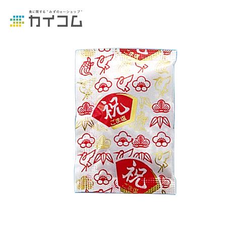 ごま塩(祝) 1.8gサイズ : 1.8g入数 : 6000単価 : 5.32円(税抜)