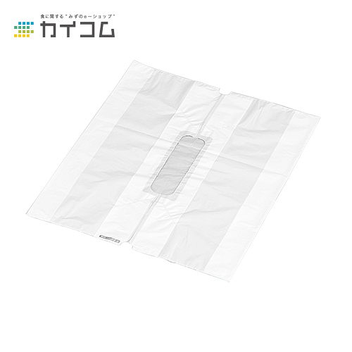 無地バンバン No.3サイズ : 0.025(素材厚み)×540(350(仕上幅)(40+40))×450(長さ)mm入数 : 1000単価 : 14.7円(税抜)