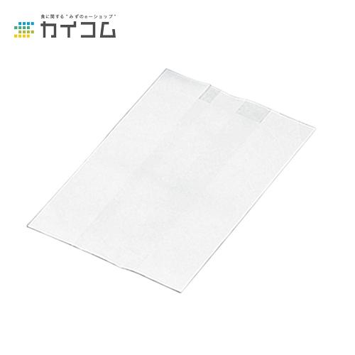 耐油紙ガゼット袋(小) 白サイズ : 120×70×190+15mm入数 : 3000単価 : 4.4円(税抜)
